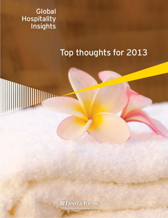 Global Hospitality Insights  Top thoughts for 2013