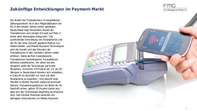 8 Die Anzahl der Transaktionen im bargeldlosen Zahlungsverkehr ist in den Mitgliedsländern der EU in den letzten Jahren we...