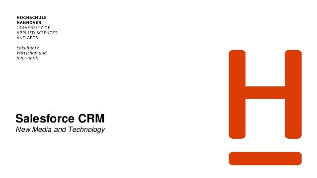 Salesforce CRM New Media and Technology