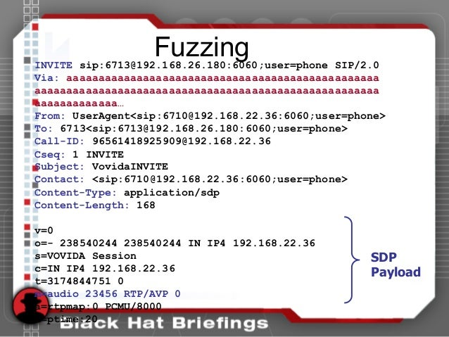 FuzzingINVITE sip:6713@192.168.26.180:6060;user=phone SIP/2.0 Via: aaaaaaaaaaaaaaaaaaaaaaaaaaaaaaaaaaaaaaaaaaaaaaaaa aaaaa...