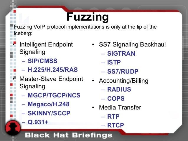 • Intelligent Endpoint Signaling – SIP/CMSS – H.225/H.245/RAS • Master-Slave Endpoint Signaling – MGCP/TGCP/NCS – Megaco/H...