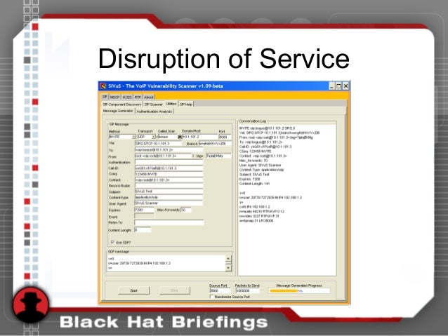Disruption of Service