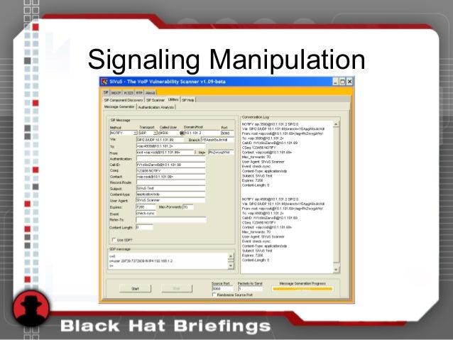 Signaling Manipulation