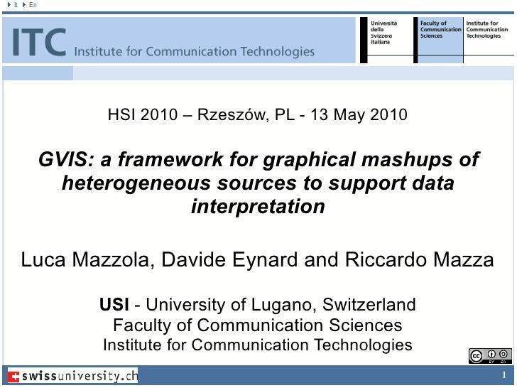 Luca Mazzola, Davide Eynard and Riccardo Mazza USI  - University of Lugano, Switzerland Faculty of Communication Sciences ...