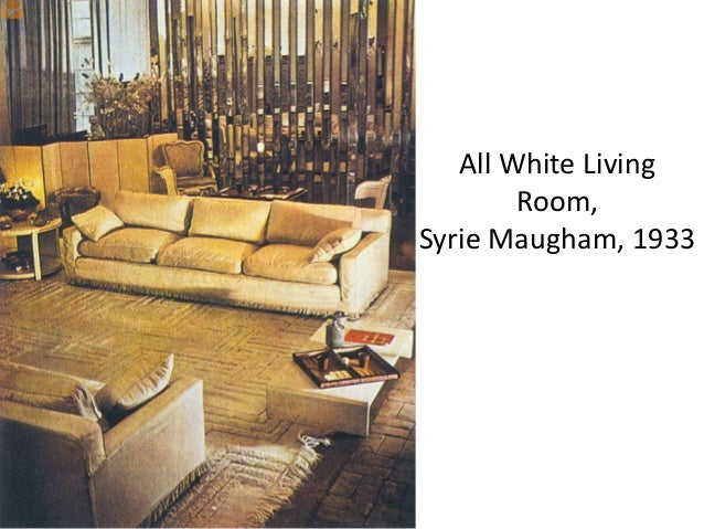 Syrie Maugham All White London Room