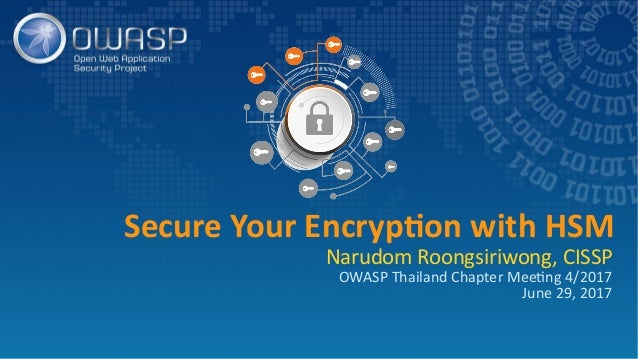 Secure Your Encryption with HSM Slide 1