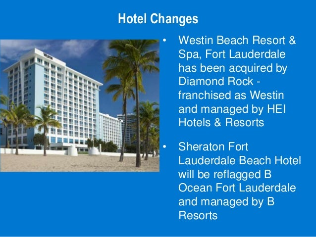 Sheraton The Westin Fort Lauderdale Beach Hotel