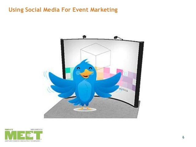 how to promote a live event on social media