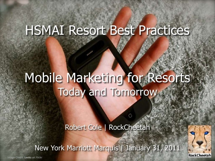 HSMAI Resort Marketing Best Practices - Mobile