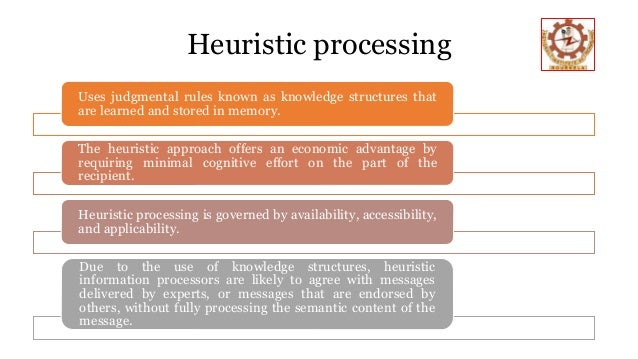 heuristic systematic model of persuasion