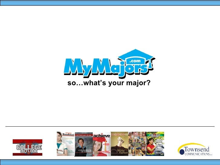 so…what's your major?