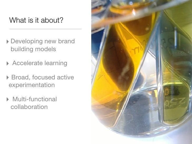 Overview of the  P&G Social Media Lab Slide 2
