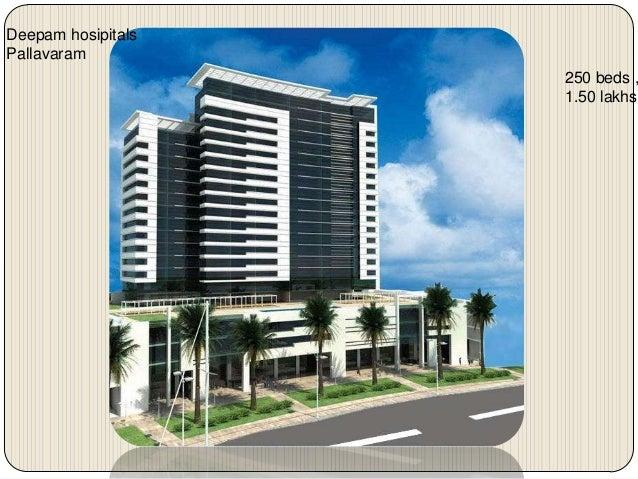Deepam hosipitalsPallavaram                    250 beds ,                    1.50 lakhs