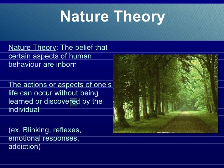 an overview of the nature versus nurture hypotheses in psychology The nature vs nurture debate still rages on, as scientist fight over how much of who we are is shaped by genes and how much by the environment the nature theory — heredity scientists have known for years that traits such as eye color and hair color are determined by specific genes encoded in each human cell.