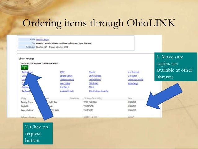 Ohiolink theses and dissertations