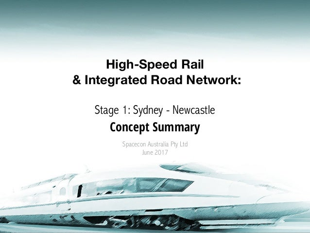 High-Speed Rail & Integrated Road Network: