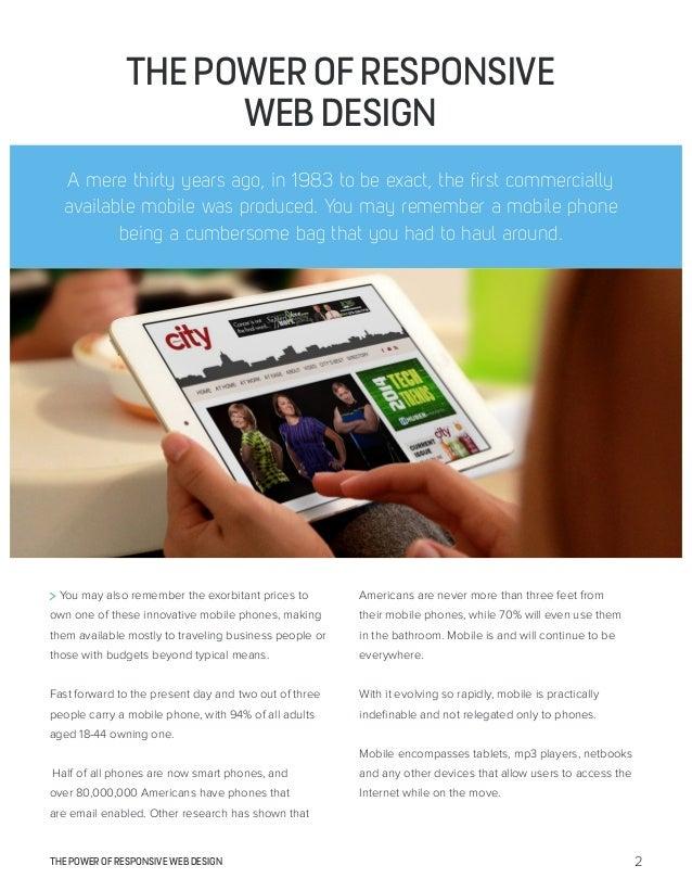 The Power of Responsive Web Design Slide 2
