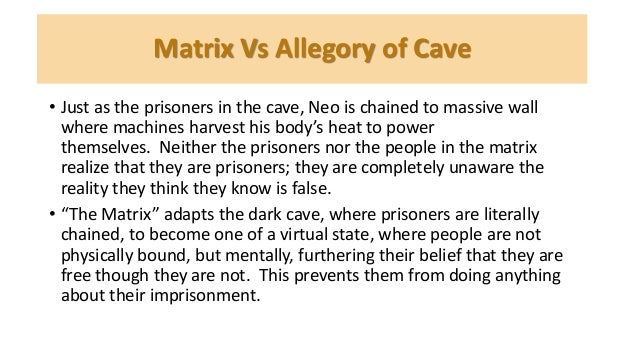 The cave allegory essay