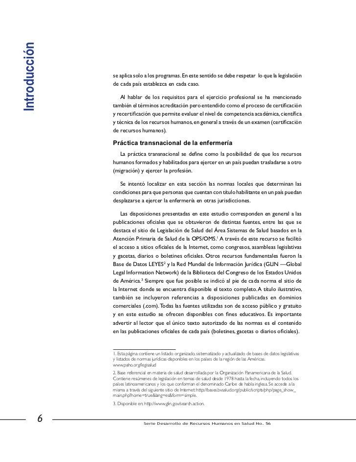 Agradecimientos    El presente estudio sobre Regulación de la Enfermería en América Latina, esel resultado de una iniciati...