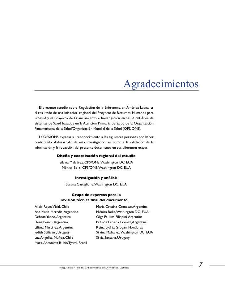 Aradecimientos                                         Revisores de los estudios por países                     Argentina ...