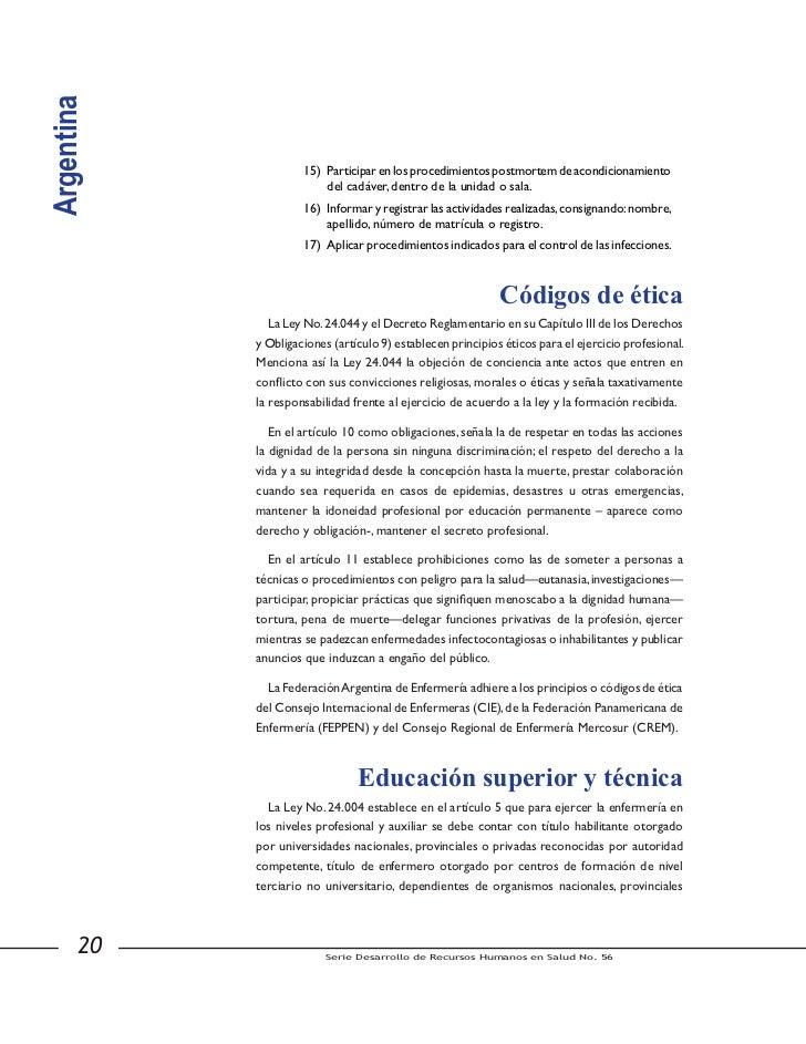 Argentina               Esta comisión se constituyó frente a la necesidad de determinar y validar aquellos            proc...