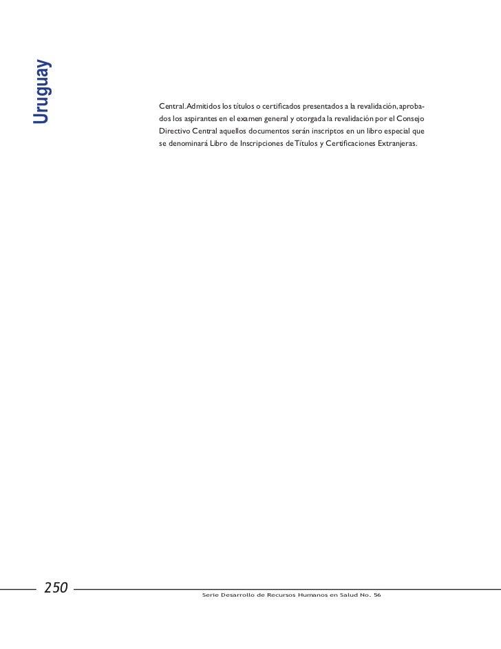 Hss hr56.Regulación de enfermería en AL 2011