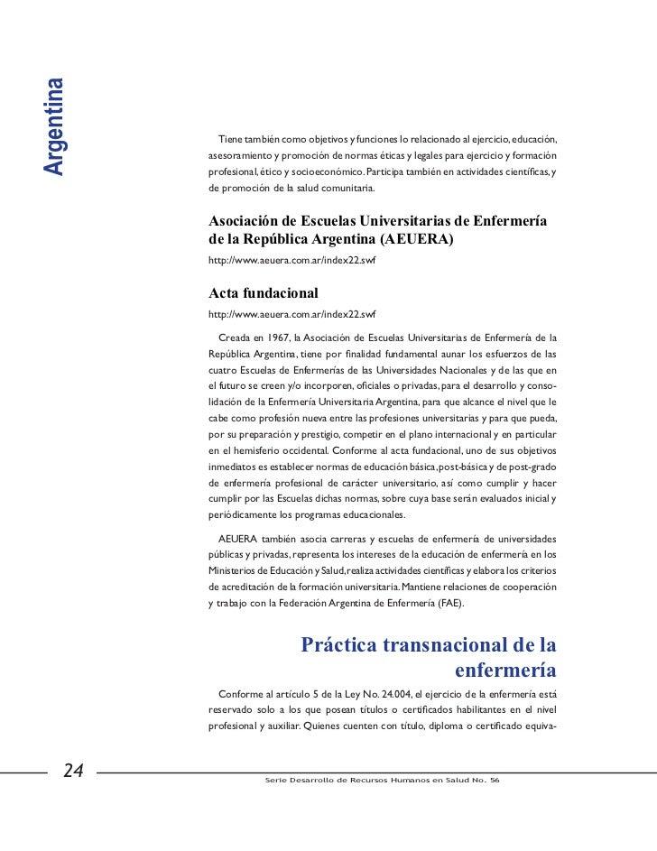 Argentina            la Disposición DNGU No. 26/98 que la reglamentan.            http://www.me.gov.ar/spu/dngu/html/dngu_...