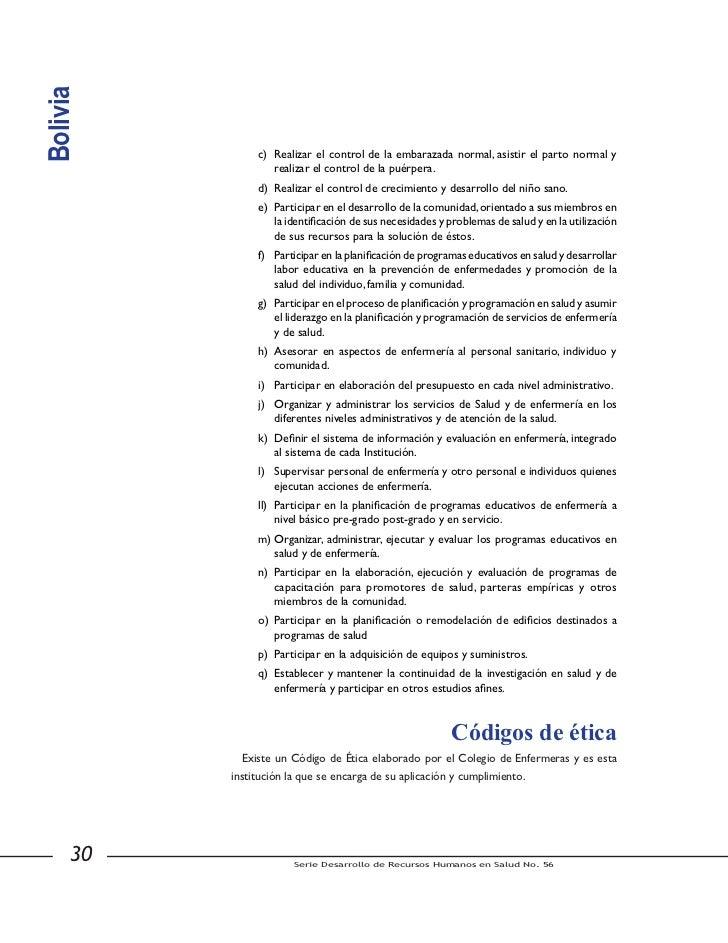 Bolivia            El Colegio de Enfermeras de Bolivia es una organización científica y gremial que          agrupa en su ...