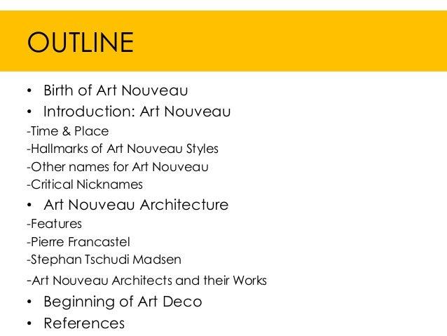 Art Nouveau ppt Slide 2