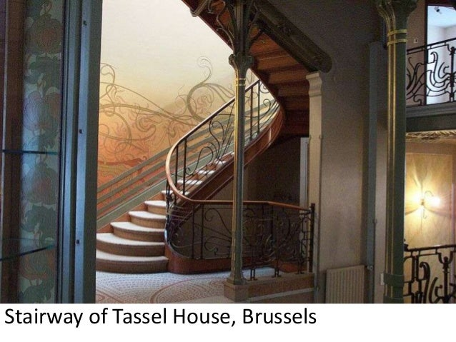 Stairway Of Tassel House Brussels