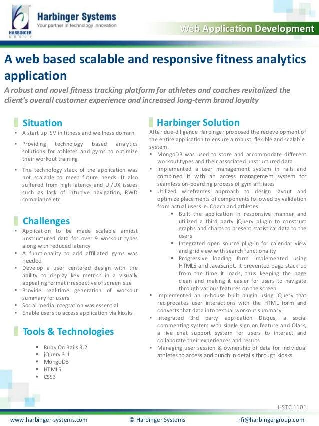 Calibri, 20, Bold  Web Application Development  A web based scalable and responsive fitness analytics  application  A robu...