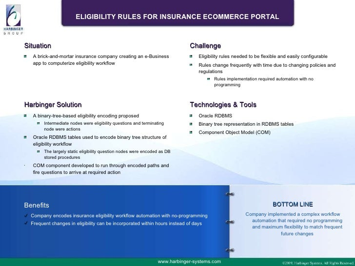 Insurance Eligibility Workflow Engine - A Case Study