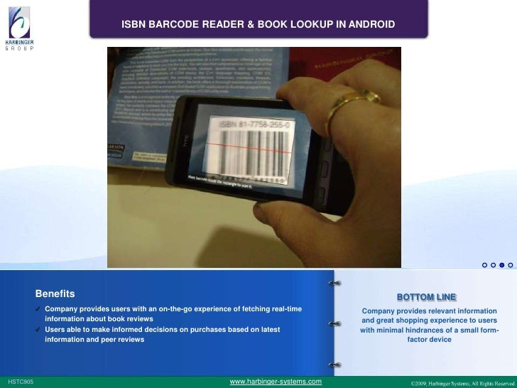 ISBN Barcode Reader & Book Lookup in Android
