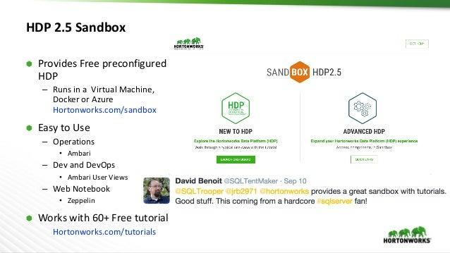 Hadoop Summit Tokyo HDP Sandbox Workshop