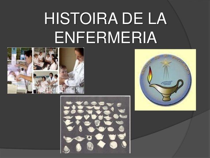 HISTOIRA DE LA ENFERMERIA