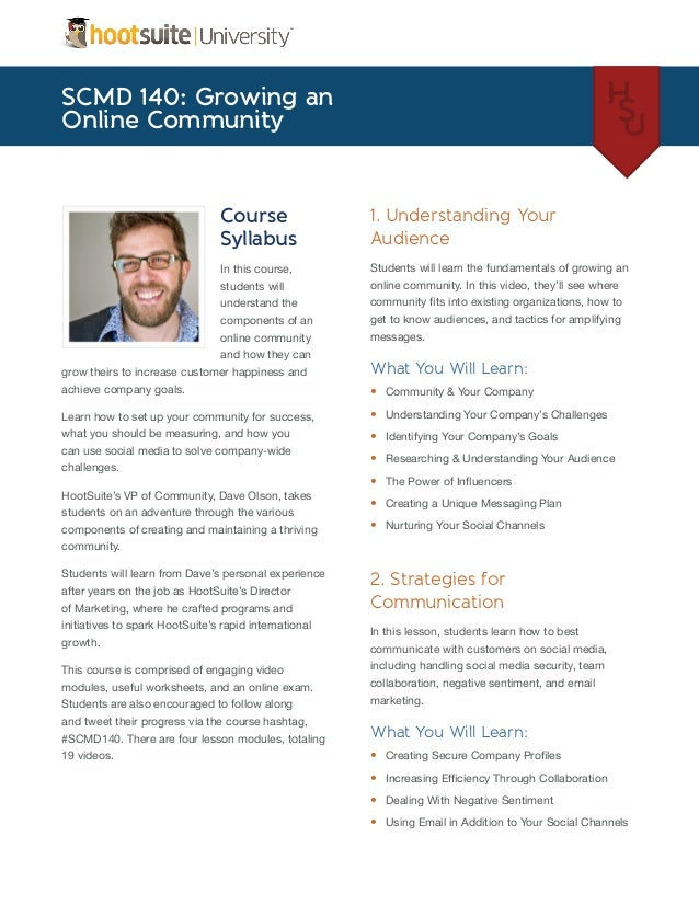 Growing an Online Community