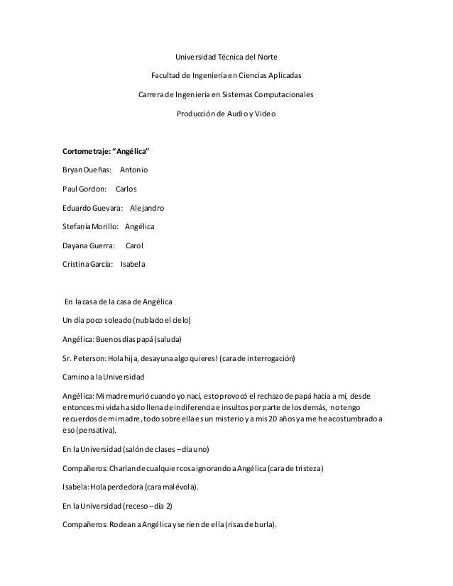 Universidad Técnica del Norte  Facultad de Ingeniería en Ciencias Aplicadas  Carrera de Ingeniería en Sistemas Computacion...