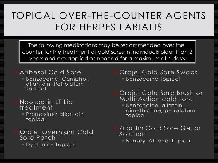 Disease State Presentation: Herpes Simplex Virus