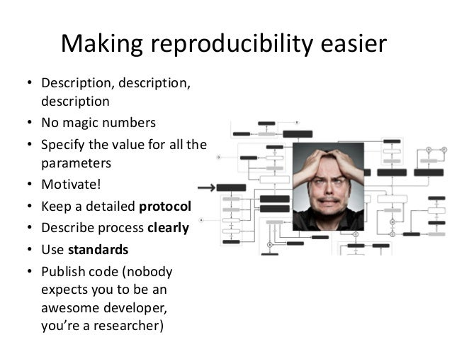 Replicability, reproducibility, and progress  •Can there be actual progress if no valid comparison can be done?  •What is ...