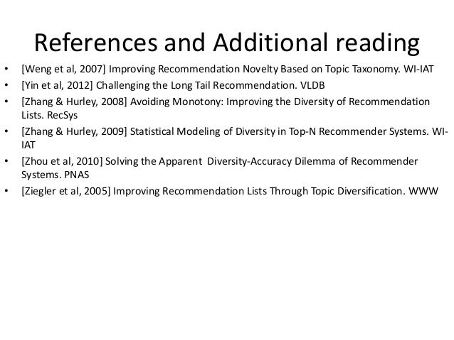 HT2014 Tutorial: Evaluating Recommender Systems - Ensuring Replicability of Evaluation