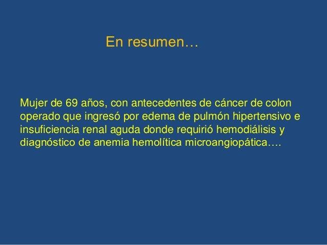 Conducta… Laboratorio inmunológico Biopsia de piel de la mano Capilaroscopía Fondo de ojo Ecocardiograma TAC AR Se espera ...
