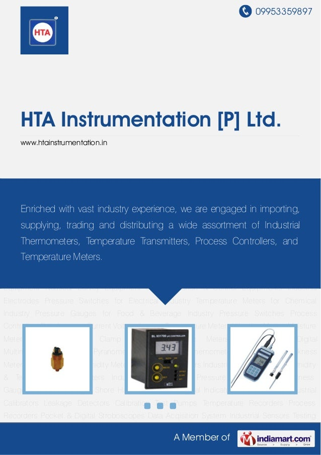 09953359897A Member ofHTA Instrumentation [P] Ltd.www.htainstrumentation.inPressure Switches Process Controllers Data Logg...