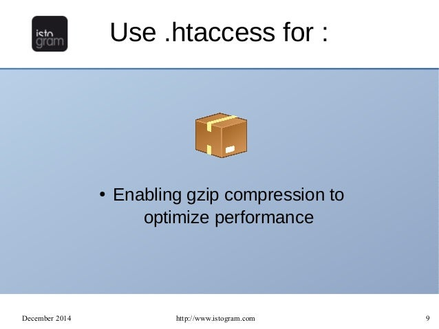 Learn how to use the  htaccess file