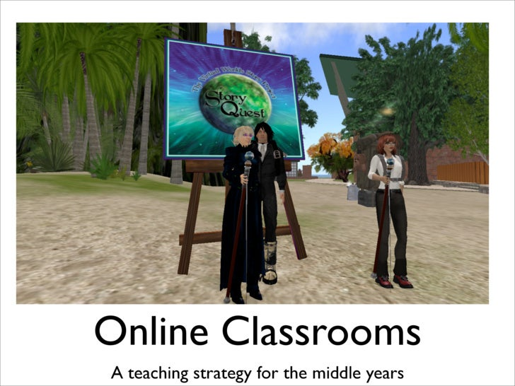 Online Classrooms A teaching strategy for the middle years