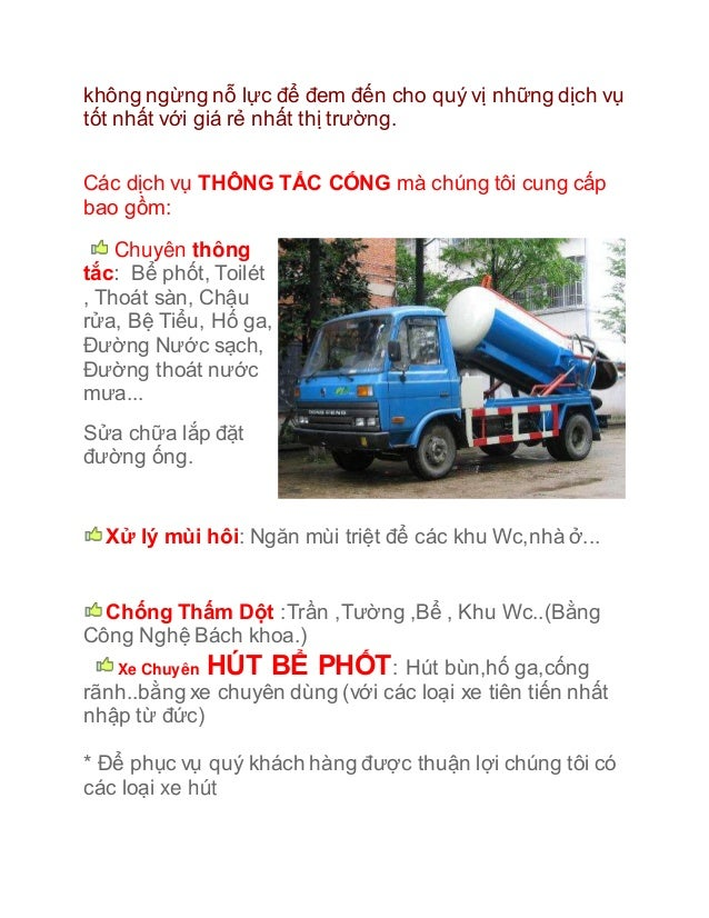 Hút bể phốt Ninh Bình - Hut be phot, Hút bể phốt BK 0944 Slide 2