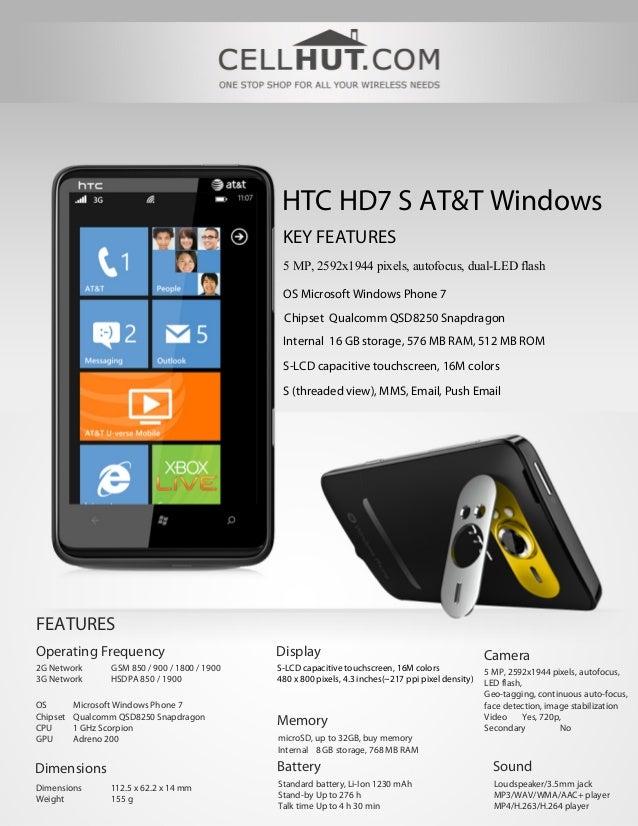 Htc hd7-s-unlocked-quadband-atandt-windows-gsm-cell-phone ...