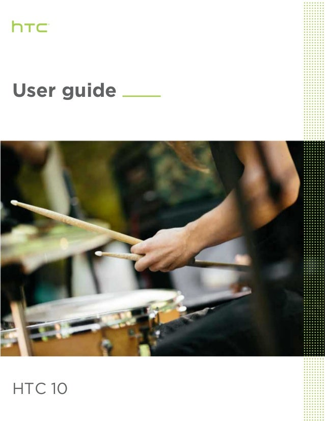 User guide HTC 10