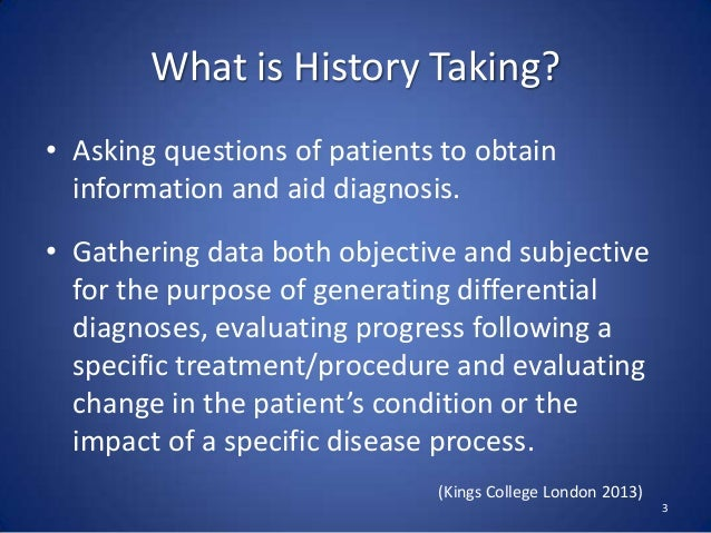 taking a patients history Sample history and physical  past she enjoyed reading, surfing the internet, and spending time gardening and taking care.