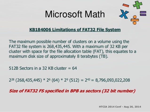 Htcia an introduction to the microsoft ex fat file system 1.01 final