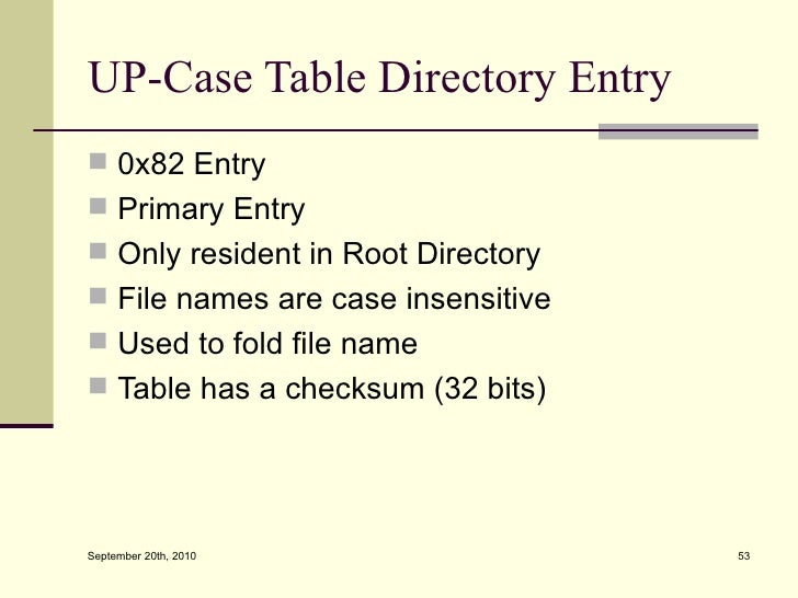 Extended Fat File System 77
